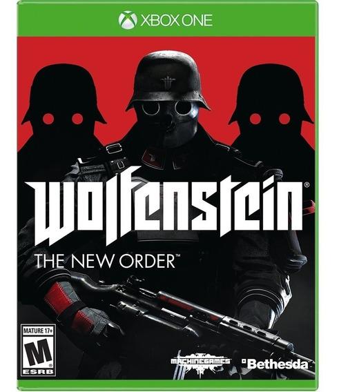 Jogo Wolfenstein The New Order Xbox One Disco Fisico Lacrado