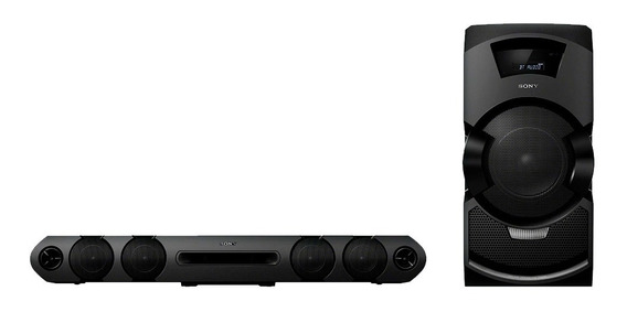 Mini System Sony Super Soundbar Mhc-gt3d Com Bluetooth E Nfc