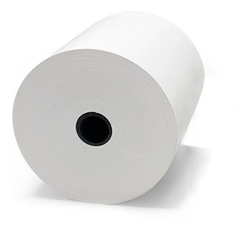 Imagen 1 de 8 de Caja Papel Rollos Termico 80x70 Mm 50 Precio Incluye Iva