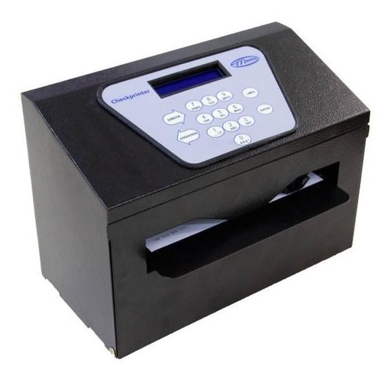 Impressoras De Cheques Checkprinter Ii Menno