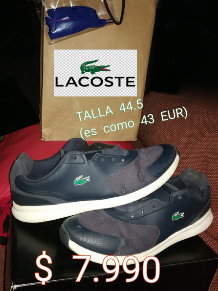 Zapatillas Lacoste 43 Usadas