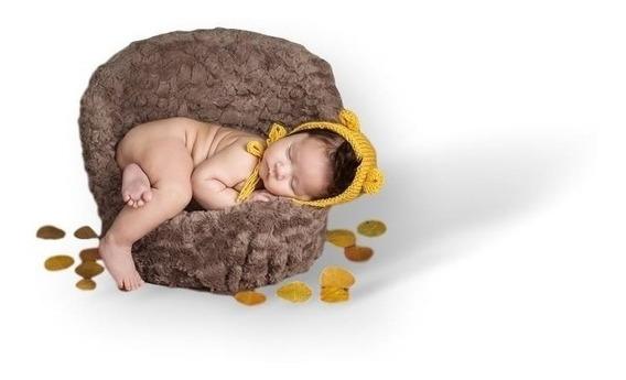 Poltrona Posicionadora 31 Newborn Posing Mini Sofá Props Gg