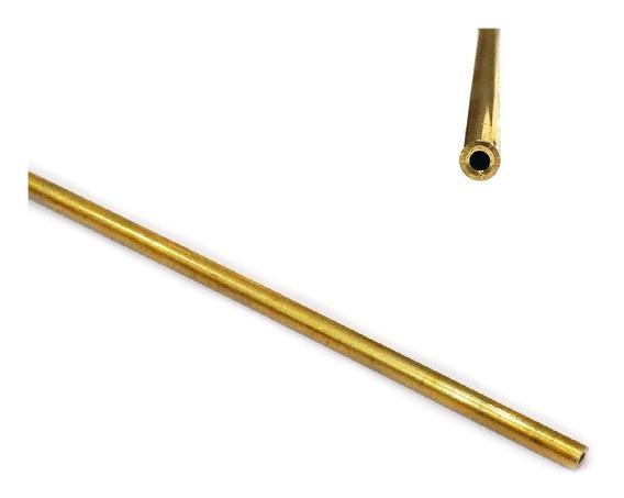Tubo De Latão Externo 3,2 X Interno 1,6mm - 200mm Lynx