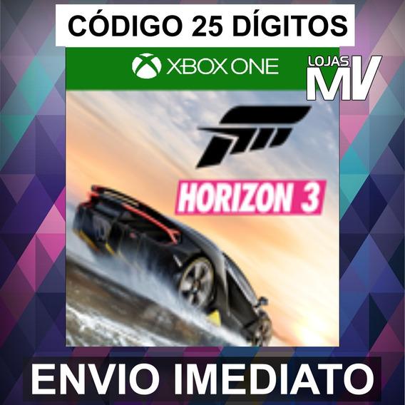 Forza Horizon 3 Xbox Live 25 Dígitos