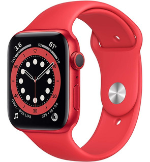 Apple Watch Serie 6 Gps 44mm Vermelho