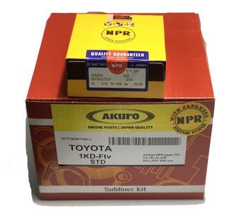 Subconjunto Toyota Hilux 3.0 16v. 1kd Std-0.50 Aros Japon