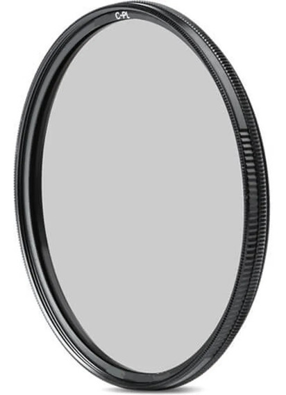Filtro Polarizador Circular Cpl Objetiva 58mm - Promocao