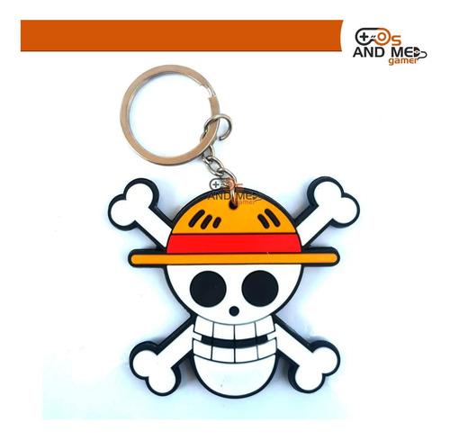 Llavero Calavera Logo One Piece Luffy Anime Nuevo
