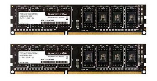 Teamgroup Elite Ddr3 1600 Mhz (pc3 - 12800) Cl11 Udimm 240 P