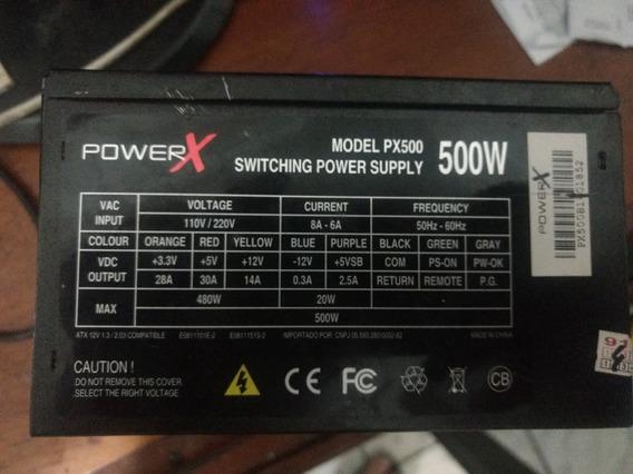 Fonte De Alimentação Atx 500w Argus Power X Px500