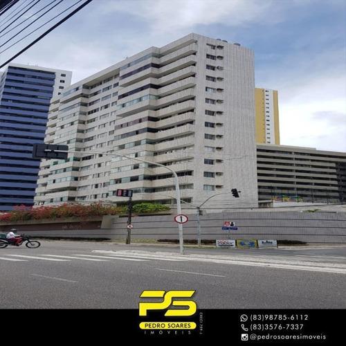 Apartamento Com 3 Suítes À Venda, 176 M² Por R$ 470.000 - Miramar - João Pessoa/pb - Ap3770