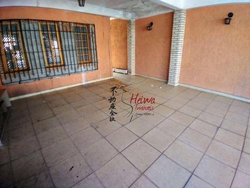 Sobrado Com 3 Dormitórios, 220 M² - Venda Por R$ 800.000,00 Ou Aluguel Por R$ 3.000,00/mês - Vila Boaçava - São Paulo/sp - So0912