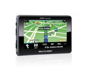 Gps Multilaser Tracker Iii Tela 4. 3 Touchscreen Fm Gp 033