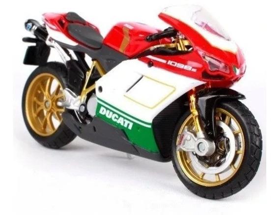 Miniatura Colecionador Moto Ducati 1098s Escala 1:18 Maisto