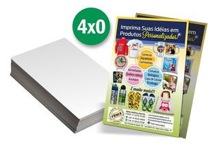 2500 Panfletos 10x14 Cm+1000 Cartões De Visita Arte Inclusa