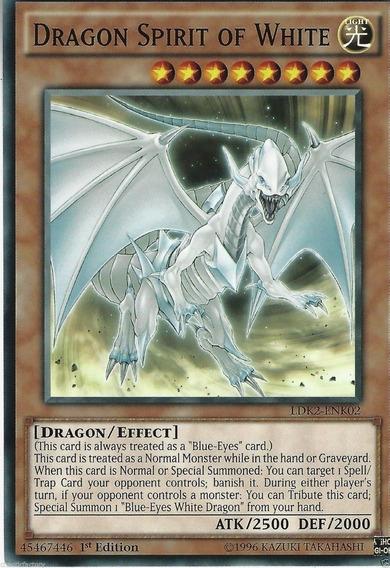 Dragon Spirit Of White - Miltienda - Yugioh