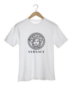 Camiseta Versace Hype Moda Fashion Balenciaga Chanel Marcas