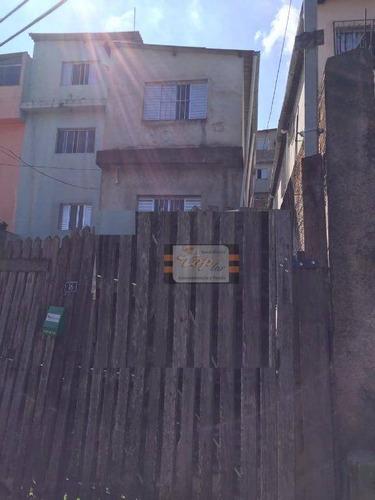 Casa Residencial À Venda, Jardim Santo Antônio, São Paulo. - Ca0366