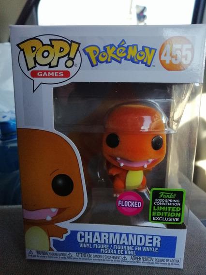 Funko Pop! Charmander Flocket - Exclusivo 2020 Sc