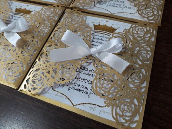 Tarjetas Caladas 15 Años Casamientos Rosas Flores