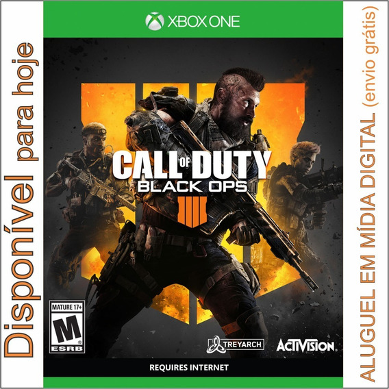 Call Of Duty Black Ops 4 Xbox One Locação Digital 15 Dias