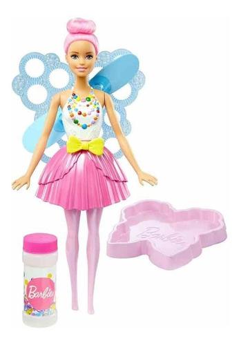 Barbie Hada De Burbujas Nuevo Y Original De Mattel.