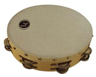 Pandereta 20cm Lc Latin Custom Sonajas Doble Lcppr20