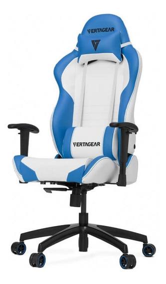 Silla Gamer Vertagear Serie Racing Sl2000 Blanco/azul