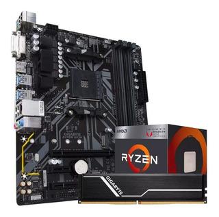 Kit De Actualizacion Gigabyte B450 Ds3h Ryzen 3 3200g 8gb