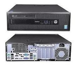 Desktop Hp 800 G1 Core I5 4gb Ram Hd 500gb Windows 7