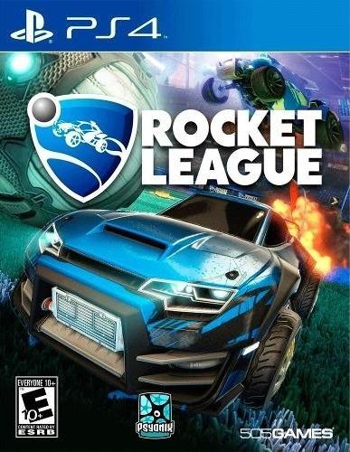 Rocket League Playstation 4 Mídia Digital Primária Vitalício