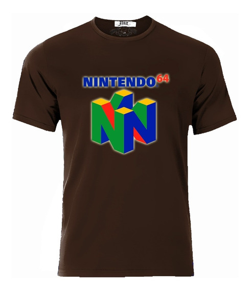 Playera Nintendo 64 Logo Clasico Todas Las Tallas Cassetes