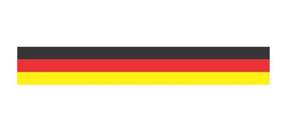 Adesivo Carro Faixa Bandeira Alemanha Volkswagen Audi Bmw