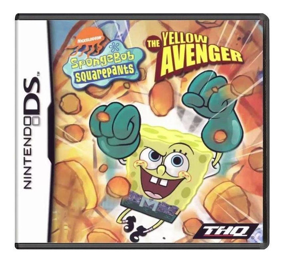 Spongebob Squarepants The Yellow Avenger Ds Mídia Física