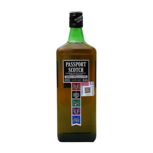 Imagen 1 de 4 de Botella Whisky Blended Scotch Passport Escocia 1l