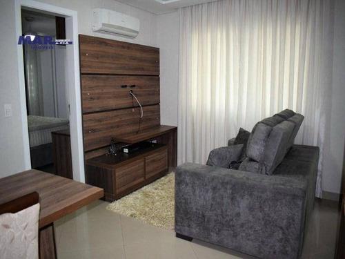 Imagem 1 de 10 de Apartamento Residencial À Venda, Centro, Guarujá - . - Ap10683