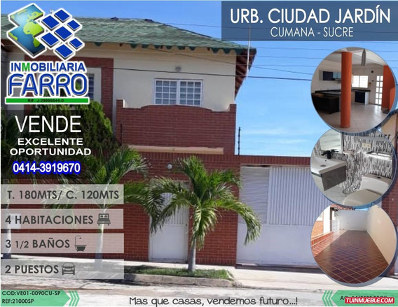 Venta De Town House En Cumana Ve01-0090cu-sp