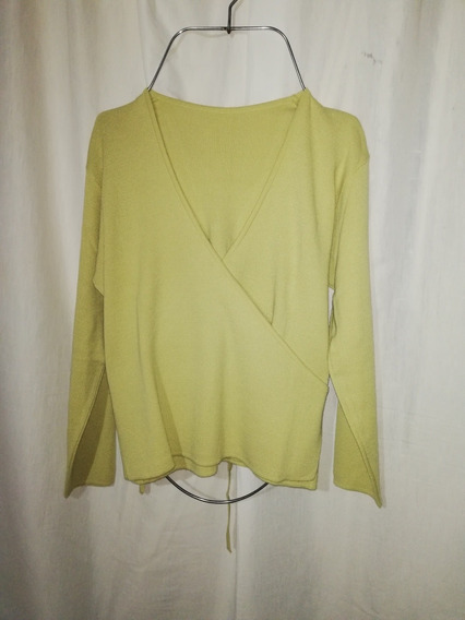Sweaters Mujer Talle L Verde Lima, Impecable