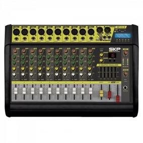 Mesa De Som 10 Canais Amplificado Mp3 Vz100-ii Skp