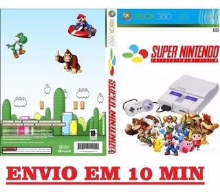 Emulador Super Nintendo Para Xbox 360 - São + De 3100 Jogos