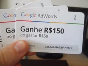 2 Unidades - Cupom Adwords 150,00 Bônus Anúncios Google