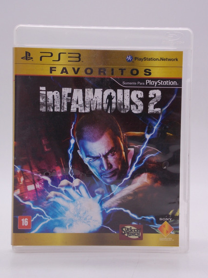 Infamous 2 Play Station 3 Original Mídia Física