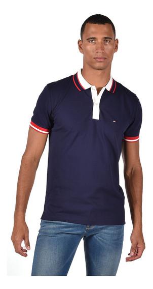 Polo - Tommy Hilfiger - Mw0mw10792-431 - Azul Hombre