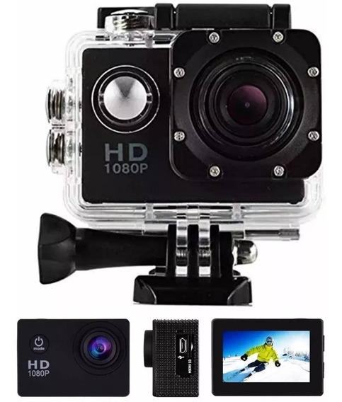 Action Camera Go Sport Pro Lcd Hd 1080p Prova D