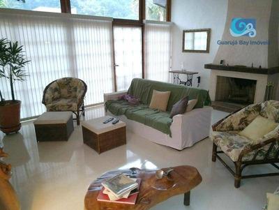 Casa À Venda Em Condomínio - Praia De Pernambuco, - Guarujá. - Ca1090