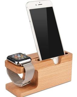 Suporte Para Relógio Apple E iPhone X 8/7s Plus Dock
