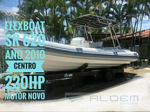 Lancha 620 Sr Flexboat - 2010- Excelente