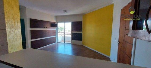 Excelente Apartamento A Venda - Condomínio Residencial Hortolândia Iv - Jundiaí - Sp - Ap1237