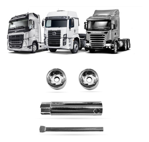 Trava Bateria Antifurto Scania R560 620 T112 113 114 M-10