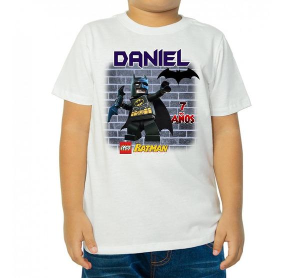 Playera Infantil Batman Lgx Personalizadas Fiesta
